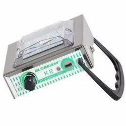 metal Globeam Solar Rechargeable LED Lamp, For Lighting, Capacity: 1000mAh