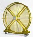 Mobile Pivot Floor Mounted HVLS Fan