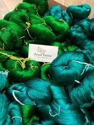 Dyed Pure Silk Yarn