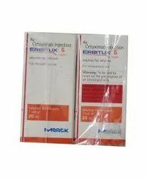 Merck Cetuximab Injection, 20ml, 5 Mg