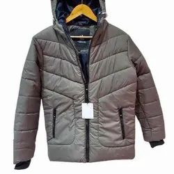 Imported Fabric Mens Brown Winter Jackets, Size: S-XXL