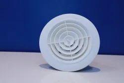 ASTBERG Color Coated ABS Rotating Air Diffuser, Slot, Shape: Circular/Round