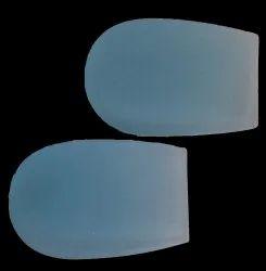 White Gel Heel Pad
