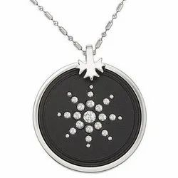 Scalar Energy Diamond Pendent