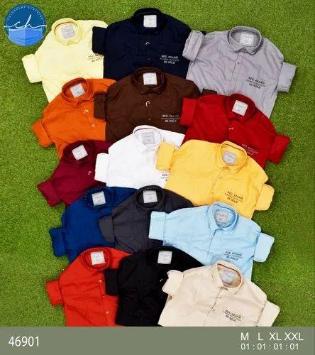 Men Plain Shirt