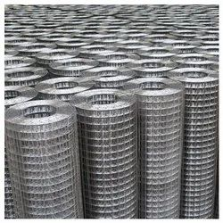 Square SS 316L Welded Wire Mesh, For Construction, 1.5 Mm