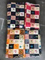 Printed Rayon Fabric Kurtis, For Making Kurti, GSM: 100-150 GSM