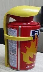 Mild Steel A B C Dry Powder Type Car Fire Extinguisher, Capacity: 500ml