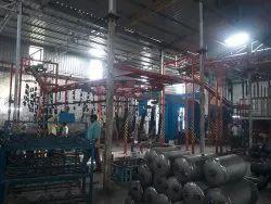 Automobile Accessories Powder Coating Plant