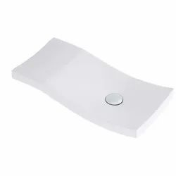Plain Ceramic Hindware Nile Over Counter Basin