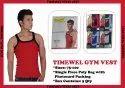 5 Colors Cotton/linen Mens Gym Vest