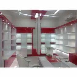 Shoes Showroom Interior Designing Service