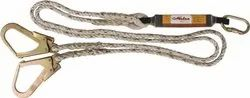 Metro Forked Lanyards With Energy/Shock Absorber (Twisted Rope/PP/Nylon Lanyard)