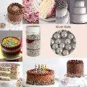 Cake Decorating Sprinkle Silver Balls