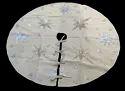 Round Christmas Tree Jute Skirt