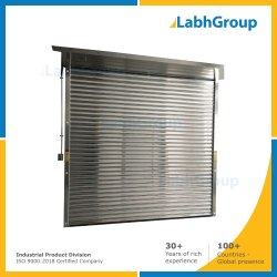 Stainless Steel Rolling Shutter, Corrugated Or Flat