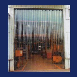 Color & Transparent Pvc Strip Curtain And Pvc Roll, For Door, Thickness: 0.5 Mm To 5 Mm