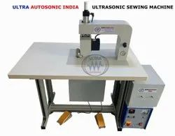 Ultra Autosonic Non Woven Ultrasonic Sealing Machine, Voltage: Single Phase, Capacity: 0-500 Pouch Per Hour