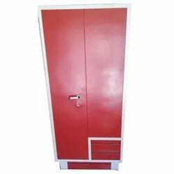 Red CRCA Steel Designer Double Door Almirah, For Home