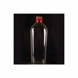 500 ml PET Flat Bottle with 28 mm