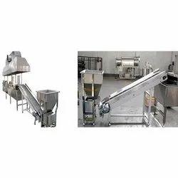 Kurkure Frying Machine, For Snacks Food Industry, Capacity: Upto 100 Kg Per Hour