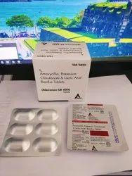 Amoxycillin, Potassium Clavulanate & Lactic Acid Bacillus Tablets