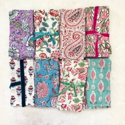 Handmade Printed Napkins Cotton Napkin Table Napkin