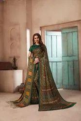 Pure Pashmina Saree