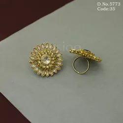 Traditional American Diamond Finger Ring