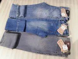 Casual Wear Denim - Cotton & Lycra Jeans, Size: 28-36
