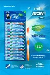 extra soft Multicolor merlin Ikon Toothbrush