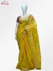 Casual 6.3 m (with blouse piece) Ladies Banarasi Silk Saree