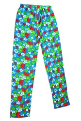 Full Length Printed Ladies Casual Cotton Pant, Available In:-L, XL