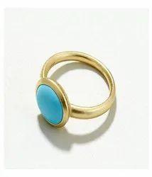 Turquoise Feroza Stone Ring