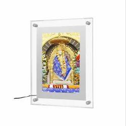 Acrylic Crystal Backlit LED Display Frame