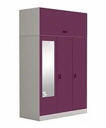 Coin Lock 3 Doors Clothes Lockers, For Home, Model Name/Number: Ang_cl
