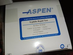 syphilis rapid test strips