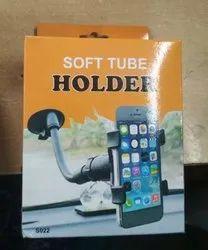 Soft tube mobile holder
