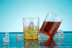 Transparent Pc Materials Plastic Saga Glass, For home,restaurant etc, Size: 77 Mm Diameter 95 Mm Height