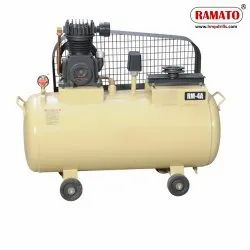 RMT-4HC 1 HP Single Piston Air Compressor With 105 LTR Tank