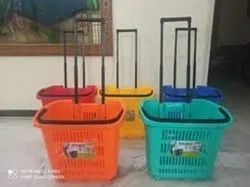 Shopping Basket With Wheel