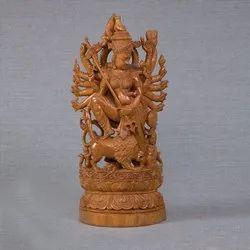 Sandalwood Maa Durga Statues