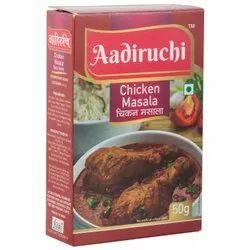Aadiruchi Chicken Masala, Packaging Size: 30 kg, Packaging Type: Bag
