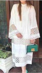 Cotton Formal Wear Ladies Designer Kurtis, Wash Care: Handwash