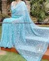 Georgette Tepchi All Over Jaal Work Saree