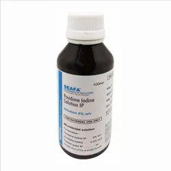 SEAFA Povidone Iodine Topical Solution IP 5% w/v