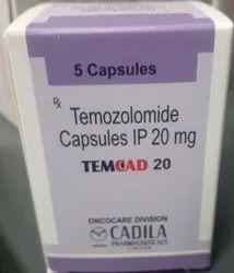 Temozolomide Capsules 20