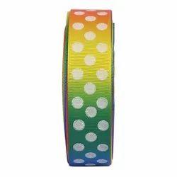 Gross Grain Ombre Polka Dot -  Ribbons 25mm/1''inch Gross Grain Ribbon 20mtr Length