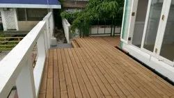 Thermo Treated Pinewood Decking