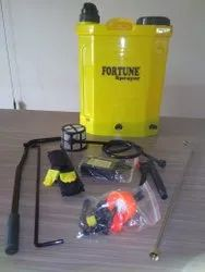8ah Battery 18l Battery And Manually  Operated Portable Garden Sprayer Pump